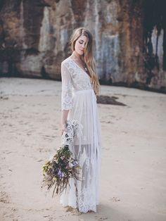 Boho kimono made in soft white lace. Bridal Lace, Boho Wedding Dress, Boho Dress, Wedding Dresses, Lace Maxi, Lace Dress, Boho Kimono, Lace Cardigan, Bohemian Bride