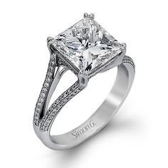 Serenade Collection - This gorgeous 18K white gold ring is comprised of .34ctw round white Diamonds. - MR2257