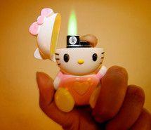 Pinterest Hello Kitty Lighter