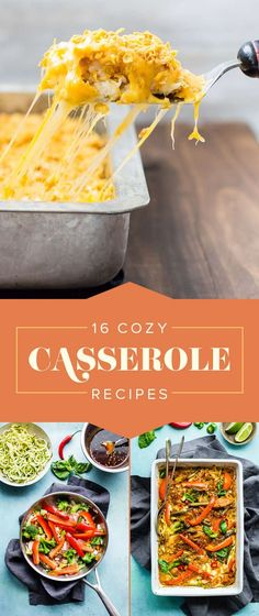 Easy Casserole Recipes That Are Perfect For Cold, Dark Nights