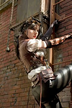 The Mechanical Beauty of Steampunk Cosplay « Cosplay Gen