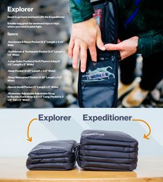 The Best Toiletry Bag For Traveling - The Expeditioner by Gravel —  Kickstarter 788bab0c63ffe