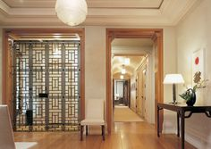 East Asian inspired bronze fretted screen; Thad Hayes; http://www.architecturaldigest.com/architects/100/thad_hayes/hayes_article_042002#ixzz1bZKbuR00