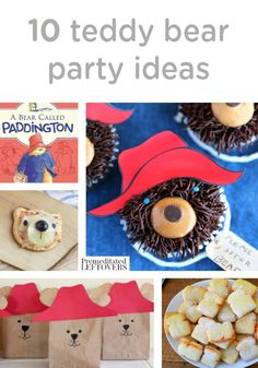 Do you have a toddler that can't get enough teddy bear snuggles? These 10 teddy bear party ideas are full of crafts, recipes, and decor ideas to help you plan an adorable party for your little one.