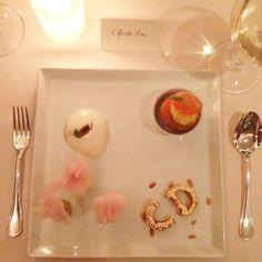 Dior the Perfumes dessert at Restaurant Daniel! Credit: crizzlee #Diorvalley #Dior #Dessert #Foodporn #MissDior