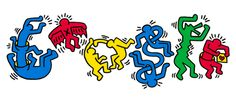 Social activist as well as artist, Haring's work is being celebrated with a Google Doodle today, to mark what would have only been his 54th birthday.