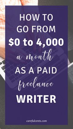 how to go from 0 to 4000 dollars a month as a paid freelance writer in just 3 days or less Writing Resources, Writing A Book, Writing Tips, Writing Prompts, Improve Writing, Writing Contests, Editing Writing, Blog Writing, Job Freelance