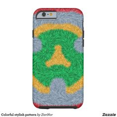 Colorful stylish pattern tough iPhone 6 case