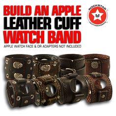 Design & Create a Rockstar Apple Leather Cuff Watch Band
