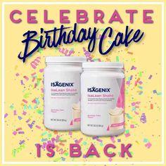 Isagenix Birthday Cake Recipes