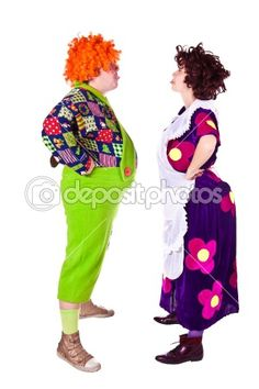 clown woman