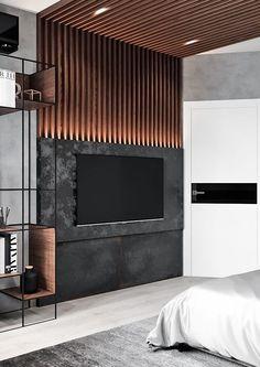 23 Best modern TV design for living room design beautiful TV . - 23 best modern TV design for living room- beautiful TV designs ideas – tvunit. Modern Tv Unit Designs, Living Room Tv Unit Designs, Modern Tv Units, Interior Design Living Room, Tv Wall Unit Designs, Lcd Unit Design, Wall Units, Stylish Bedroom, Modern Bedroom
