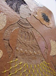 Collagraphs      Collagraph plate