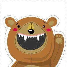 Kindergarten Centers, Kindergarten Lessons, Montessori Activities, Activities For Kids, Animal Games, Preschool Art, Brown Bear, Diy For Kids, Cute Pictures