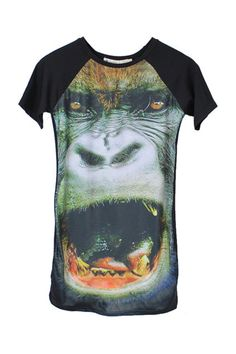 ROMWE Gorilla Dress