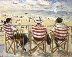 Ostende, s/d Jean Jacques René (França, 1943) óleo sobre tela, 65 x 81 cm Coleção Particular