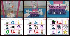 """Lotería Bingo de las vocales, una idea genial Gracias a una idea de la maestra Yadis Zuñiga, hemos preparado este maravilloso recurso. La lotería y el bingo (del inglés """"bean"""" por las judías que..."""
