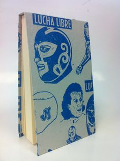 Blue Lucha Notebook via Etsy.