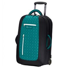 "22"" inch carry-on travel luggage. Sturdy, convenient and pretty in various color options."
