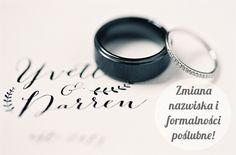 Madame Allure. Najpiękniejsze inspiracje ślubne!: Zmiana nazwiska, czyli formalności po ślubie