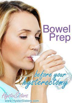 Bowel prep before hysterectomy