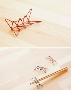 Chopstick Rest - Ayatori (string figure)
