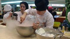 Il gelato estemporaneo: azoto liquido per un gelato pronto in pochi secondi.