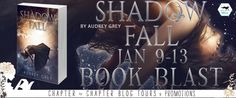 "Ends 1/20 Susan Heim on Writing: Book Blast: ""Shadow Fall"" by Audrey Grey with One (1) winner will received a Blaze swag pack and $5 Amazon card (INT) Giveaway"