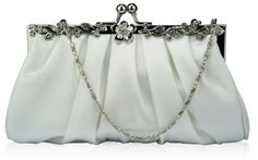 Ladies Women's Night Out Evening Bags Classy Sparkly Crystal Satin Diamante Prom Wedding Ball Event Clutch Bag Bridal Clutch Bag, Clutch Bags, Wedding Bag, Wedding Pins, Wedding Stuff, Bridal Handbags, Wholesale Bags, Evening Bags, Bags