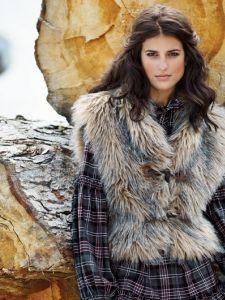 Burda Style: Damen - Westen - Kurze Westen - Fellweste - kurz & Fuchsfell-Imitat