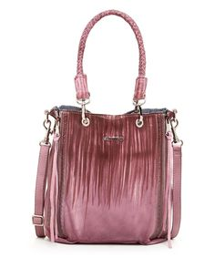 Another great find on #zulily! OLD TREND Merlot Lavender Small Barracuda Leather Tote by OLD TREND #zulilyfinds