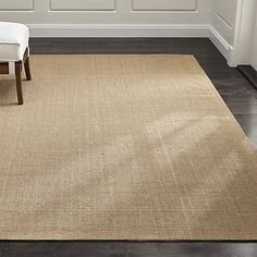 Sisal Almond Rug | Crate and Barrel