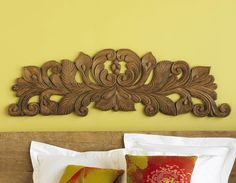 Calla Lily: Wooden Wall Art | VivaTerra, $219.00 #HandCarved #RecycledMaterials