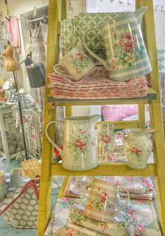 lovely jugs and creamers by GreenGate