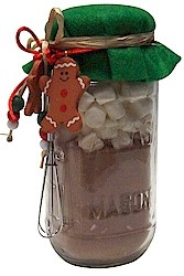 Hot chocolate in a jar gift how to