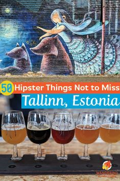 Get off the beaten path in Tallinn, Estonia, Europe's hipster hot spot. Find hipster and geeky things to do in Tallinn exploring a local and alternative side to Tallinn. Find the best boutique hotels, craft beer, art, food, and design stores all while avoiding crowds and supporting the local economy of Tallinn, Estonia through responsible and sustainable travel. #tallinn #estonia #hipster #geekytravel  #offthebeatenpath #sustainabletravel Road Trip Europe, Europe Travel Guide, Europe Destinations, Estonia Travel, Best Boutique Hotels, Central And Eastern Europe, Beer Art, Cool Places To Visit, Travel Usa