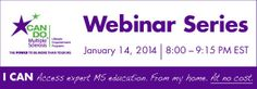 """""""New Year, New Changes: Tips on Daily Living with MS"""" webinar taking place on Tuesday, January 14, 2014 at 8 PM EST. Presented by Can Do MS. Click here to register for this informative webinar: https://cc.readytalk.com/cc/s/registrations/new?cid=ubsz8g8vndx7"""