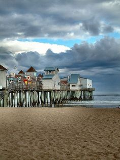 Old Orchard Beach, Maine. Old Orchard Beach has been welcoming tourists and families to its beautiful 7-mile stretch of perfect sand beach for over 170 years.