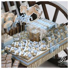 #NewBorn #Baby #Boy #Stand #Chocolate #Cookies #Decorated  #BassamGhrawi #YourTraditionalPartner