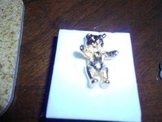 Steiff Teddy Bear  25th Anniversary Pin 125 by JosiesJazzyVintage, $15.00