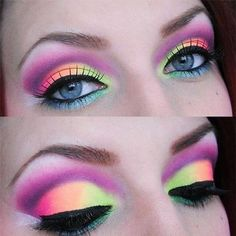Statement eyes maybe a good idea for halloween