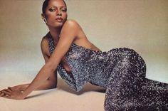 Diana Ross by Francesco Scavullo. Perfect.