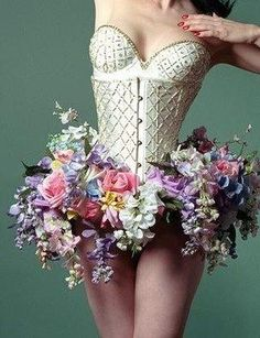 yes, I know...flowers??? but I think it is just so pretty...maybe a cool costume?!?!?
