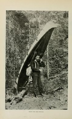 Ready for the portage. Western field. October 1905.