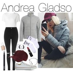 Andrea Gladso by varrica on Polyvore featuring мода, R13, Topshop, Yeah Bunny, Converse, rag & bone, Ray-Ban, MAC Cosmetics, NARS Cosmetics and Essie