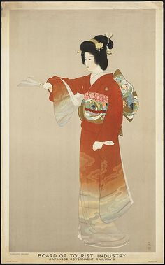 Board of Tourist Industry poster, Japanese Government Railways by Boston Public Library, via Flickr
