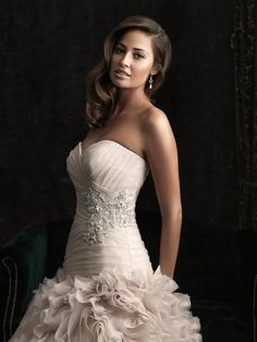 Allure Bridals Fall 2012 Collection + My Dress of the Week - Belle the Magazine . The Wedding Blog For The Sophisticated Bride