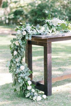 36 best charleston elopements images on pinterest plantation floral garland for an elegant charleston wedding at the legare waring house wedding planner pure junglespirit Choice Image