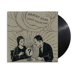 "Lazy Labrador Records - Bright Eyes · Susan Miller Rag · 7"" · Black, $44.99 (http://lazylabradorrecords.com/bright-eyes-susan-miller-rag-7-black/)"