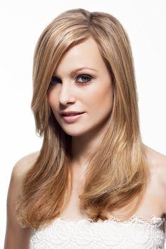 Blonde lange haare madchen